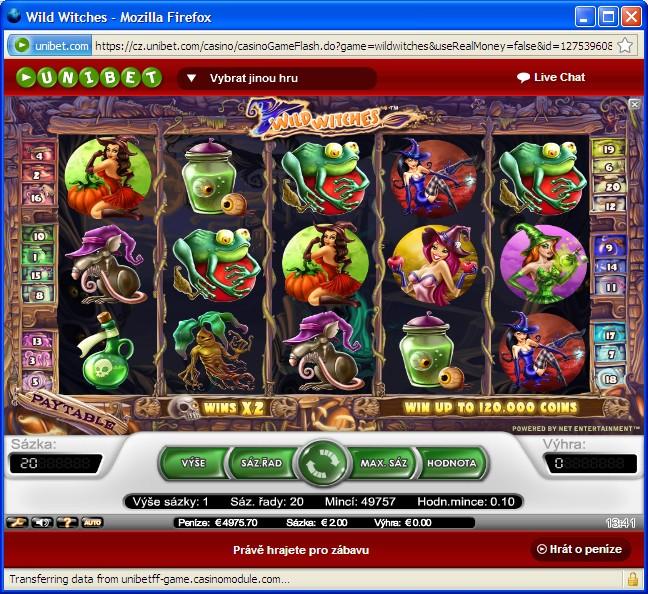 Casino automaty zdarma